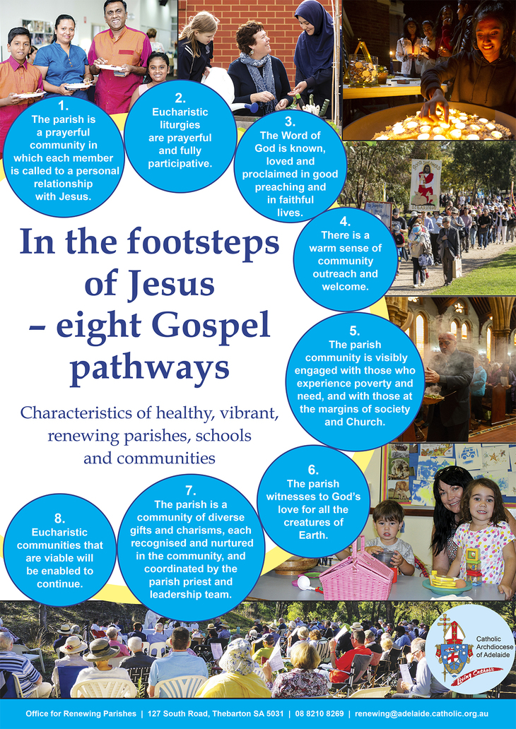Catholic Archdiocese of Adelaide - Eight Gospel Pathways
